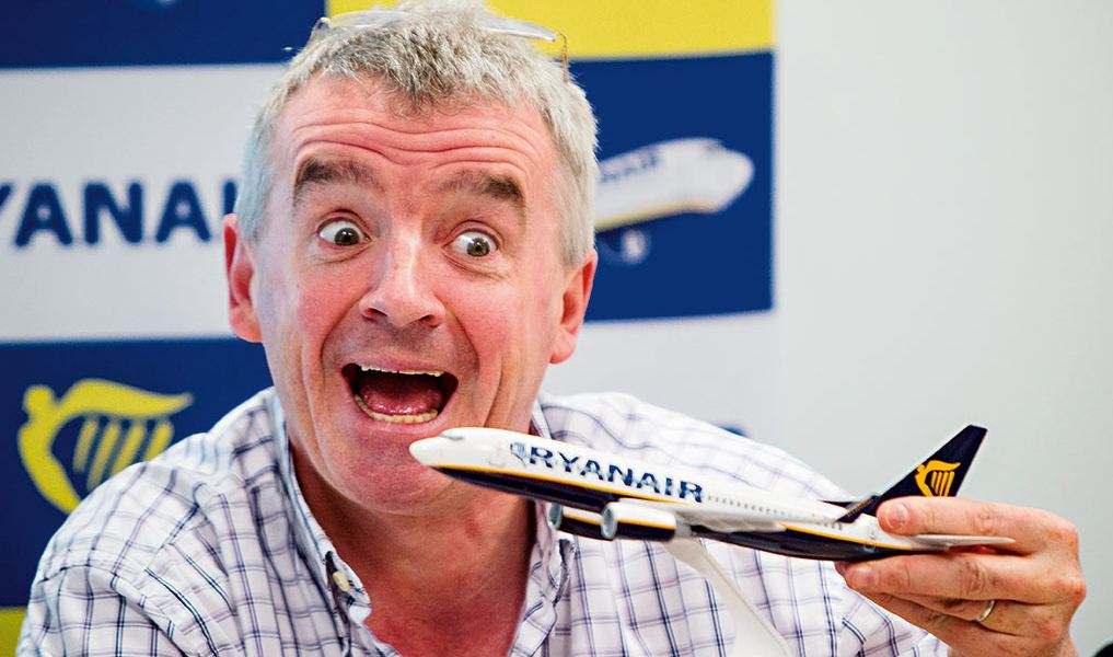 Michael O'Lary, chefe executivo da Ryanair