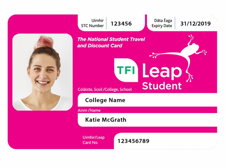 Student Leap Card Ireland