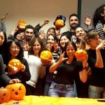 pumpkin carving at SEDA College